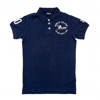 Pánské polo triko OLIMP TEAM, Tmavě Modré, OLIMP, XXL
