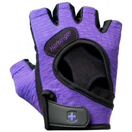 Fitness rukavice, 139, fialové, Harbinger, S