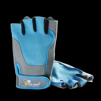Olimp Dámské rukavice Fitness One - Blue, XS