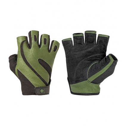 Fitness rukavice PRO Green 143, Harbinger, S