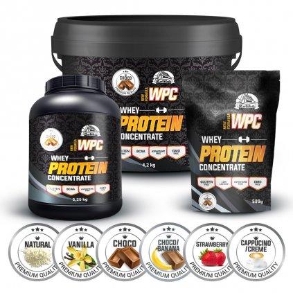 WPC 80 protein, 1000g, Koliba, Čokoláda