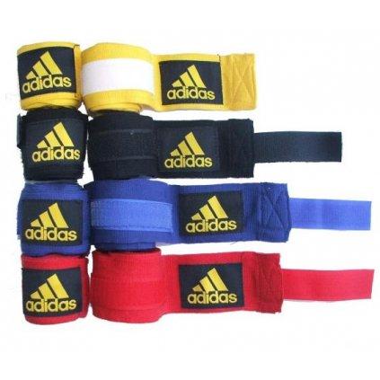Adidas boxerské bandáže elastické, 255 cm, černá