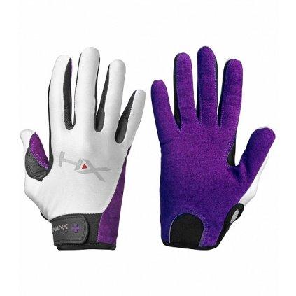 Dámské rukavice na CrossFit Harbinger X3 fialové, L