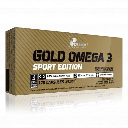 Gold Omega 3 Sport Edition, 120 kapslí, Olimp
