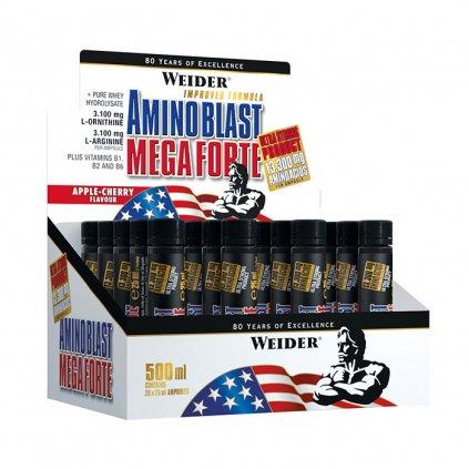 Weider, Amino Blast Mega Forte, 1 x 25 ml, APPLE-CHERRY