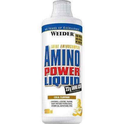 Weider, Amino Power Liquid, 1000 ml, mandarinka