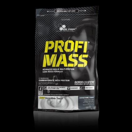 Olimp Profi Mass Gainer 1000 g, proteinovo-sacharidová směs, 45:40, Vanilka