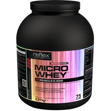 Micro Whey NATIVE, 2,27 kg, Reflex Nutrition, Čokoláda