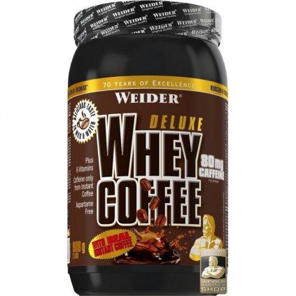 Weider Deluxe Whey Coffee, 908 g, syrovátkový protein s instantní kávou, 80 mg kofeinu