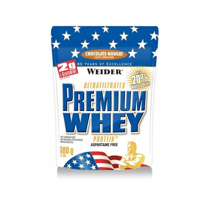 Weider, Premium Whey, 500 g, SYROVÁTKOVÝ KONCENTRÁT +ISOLÁT, Banán
