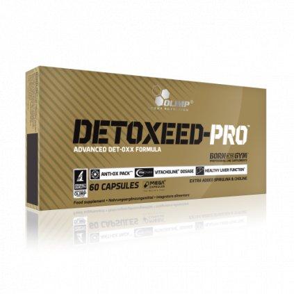 Olimp Detoxeed-Pro 60 kapslí, obsahuje bioaktivní složky rostlinného původu