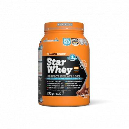 NAMEDSPORT Star Whey PERFECT ISOLATE 100%, 750 g, SYROVÁTKOVÝ IZOLÁT, sušenky-smetana
