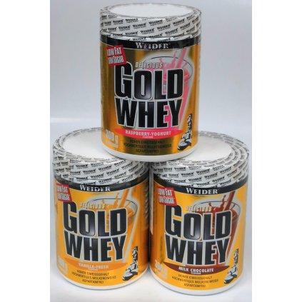 WEIDER GOLD WHEY, syrovátkový protein, 300g, EXPIRACE 07.2020, Čokoláda