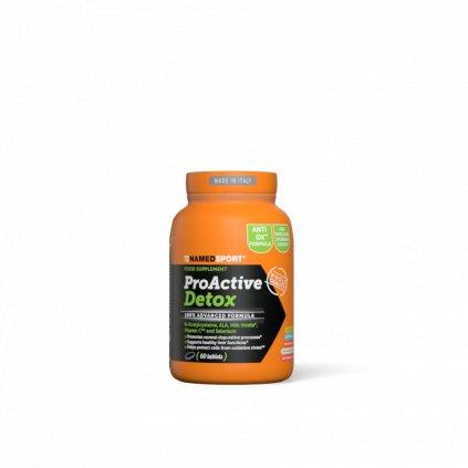 NAMEDSPORT Pro Active Detox, detoxikační směs, 60 tablet