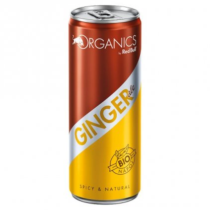 Red Bull Organics Ginger, 250 ml