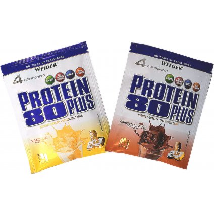 Weider, Protein 80 Plus, 500 g, Čokoláda