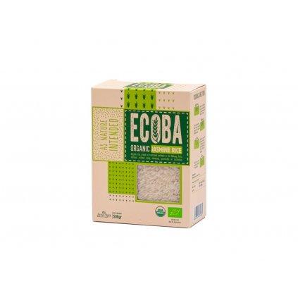 Ecoba BIO jasmínová rýže bílá, 500g
