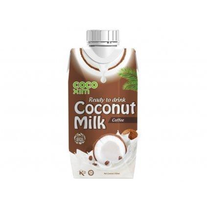 COCOXIM kokosový nápoj káva, 330 ml