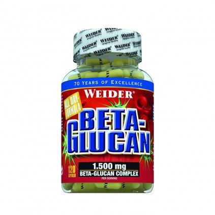 Beta-Glucan, 120 kapslí, Weider