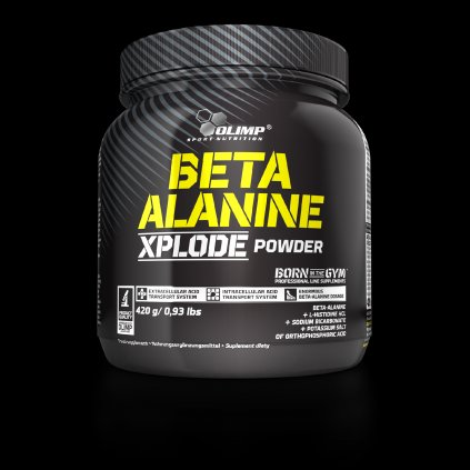 Beta-Alanine Xplode Powder, 420 g, Olimp, Pomeranč