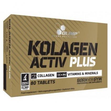 Kolagen Activ Plus, 80 tablet, Olimp