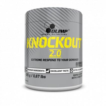 Olimp Knockout 2.0, 305g, komplexní, stimulační předtréninková směs, Pear Attack