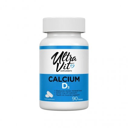 VPLab Calcium D3 Ultra Vit 90 tablet, vápník a vitamin D3, EXSPIRACE 5/2020