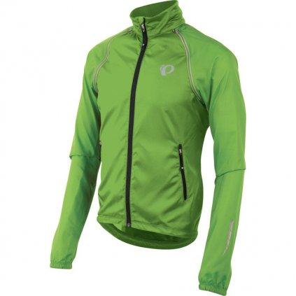 Bunda Pearl Izumi ELITE Barrier Convertible Jacket-Zelená-M