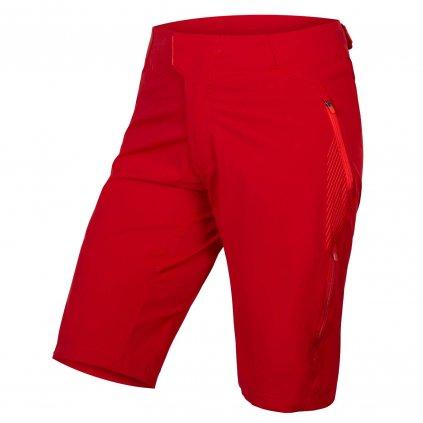 Dámské volné kraťasy Endura Womens Singletrack Lite II Shorts - Rezavě červená, M