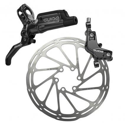 Kotoučová brzda SRAM Guide RSC-Černá-Zadní