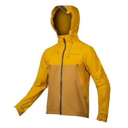 Nepromokavá bunda Endura MT500, Hořčicová Velikost: XL