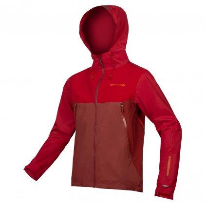 Nepromokavá bunda Endura MT500, Kakaová Velikost: S