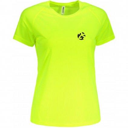 Dámské běžecké tričko 2S fluo