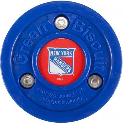 Puk Green Biscuit NHL New York Rangers