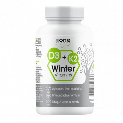 Aone D3+K2 Winter Vitamins, 200 tablet