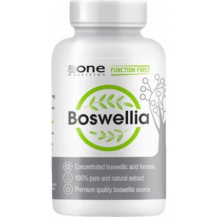 AONE Boswellia Serrata, 120 kapslí, 100% čistý extrakt z pryskyřice indického kadidlovníku