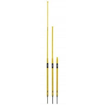 SKLZ Pro Training Agility Poles, slalomové tyče set 8