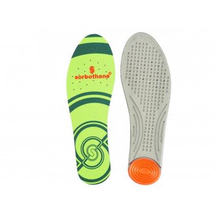 Sorbothane Single Strike, gelové vložky do bot