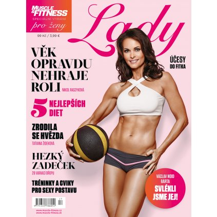 Muscle & Fitness LADY, speciální vydání pro ženy