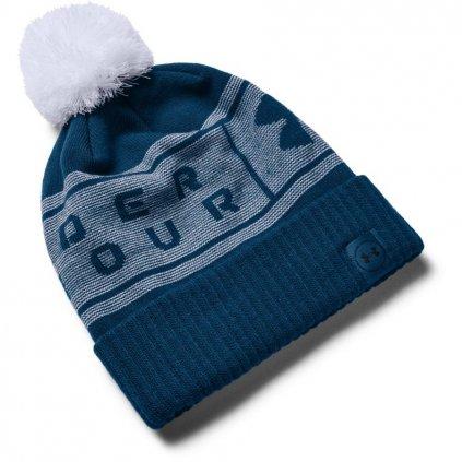 Zimní čepice Under Armour Big Logo Pom Beanie