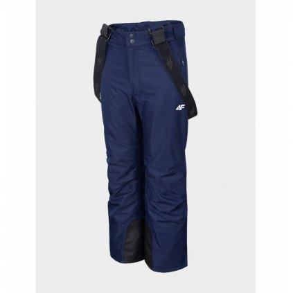 Dětské lyžařské kalhoty GIRL'S SKI TROUSERS JSPDN001A