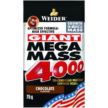 Weider, Mega Mass 4000, 75g, Čokoláda