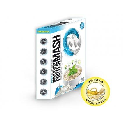 MAXXWIN Protein Mash, 500g, banán