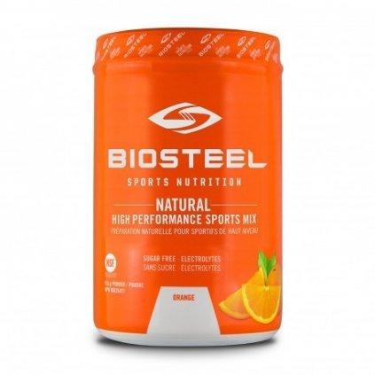 Iontový nápoj Biosteel Orange High Performance Sports Drink (140g)