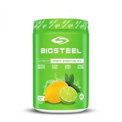 Iontový nápoj Biosteel Lemon Lime High Performance Sports Drink (140g)