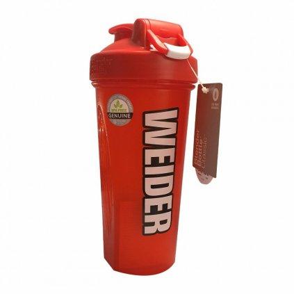 Weider shaker blender, 600ml, červený