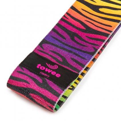 Towee Booty Band textilní odporová guma Zebra - silný odpor