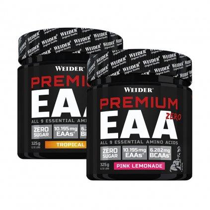 Weider PREMIUM EAA ZERO, směs esenciálních aminokyselin, 325 g, Tropical