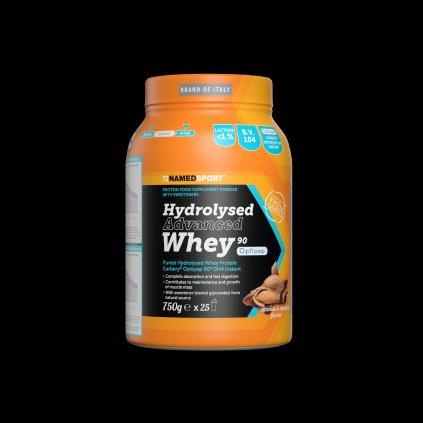 NAMEDSPORT Hydrolysed Whey 90, 750g, hydrolyzát syrovátkového izolátu, Chocolate