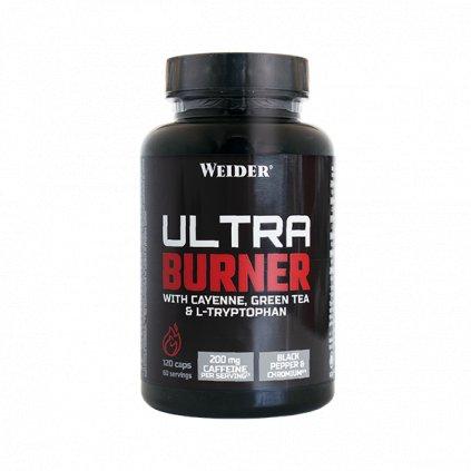 Weider, ULTRA BURNER stimulační termogenní spalovač, 120 kapslí